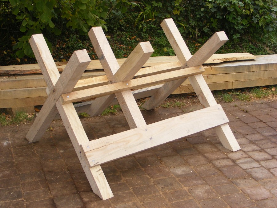 Как сделать козёл для распилки дров своими руками 743