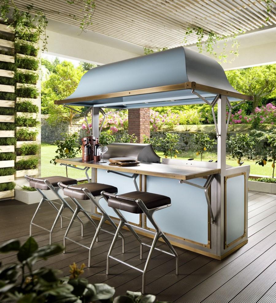 Летняя кухня с верандой — разновидности и советы по обустройству