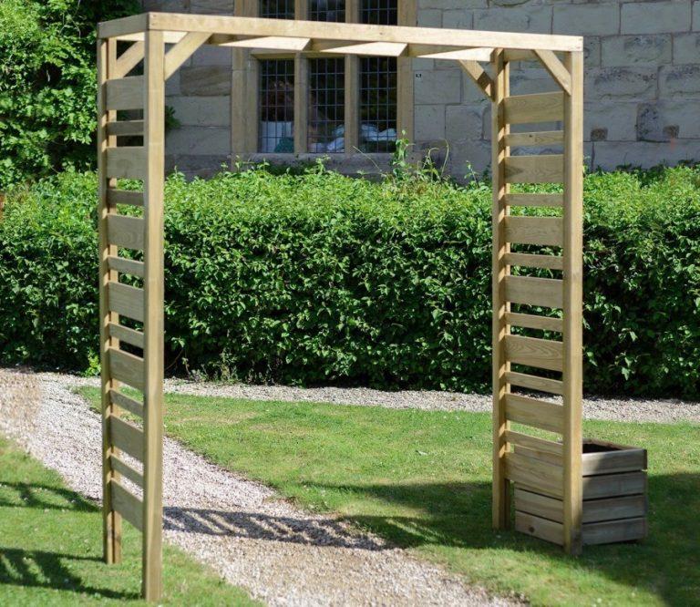 Сделать арку садовую своими руками из дерева 68