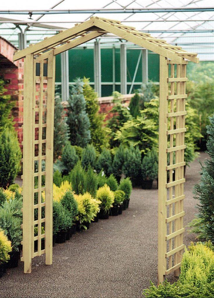 Садовая арка для цветов на даче своими руками: делаем арку