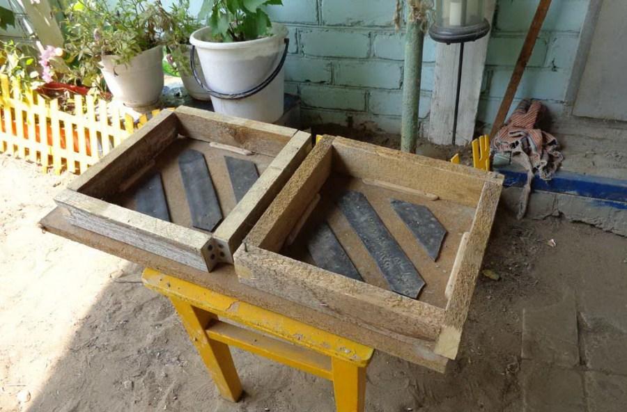 Самодельная форма для плитки своими руками