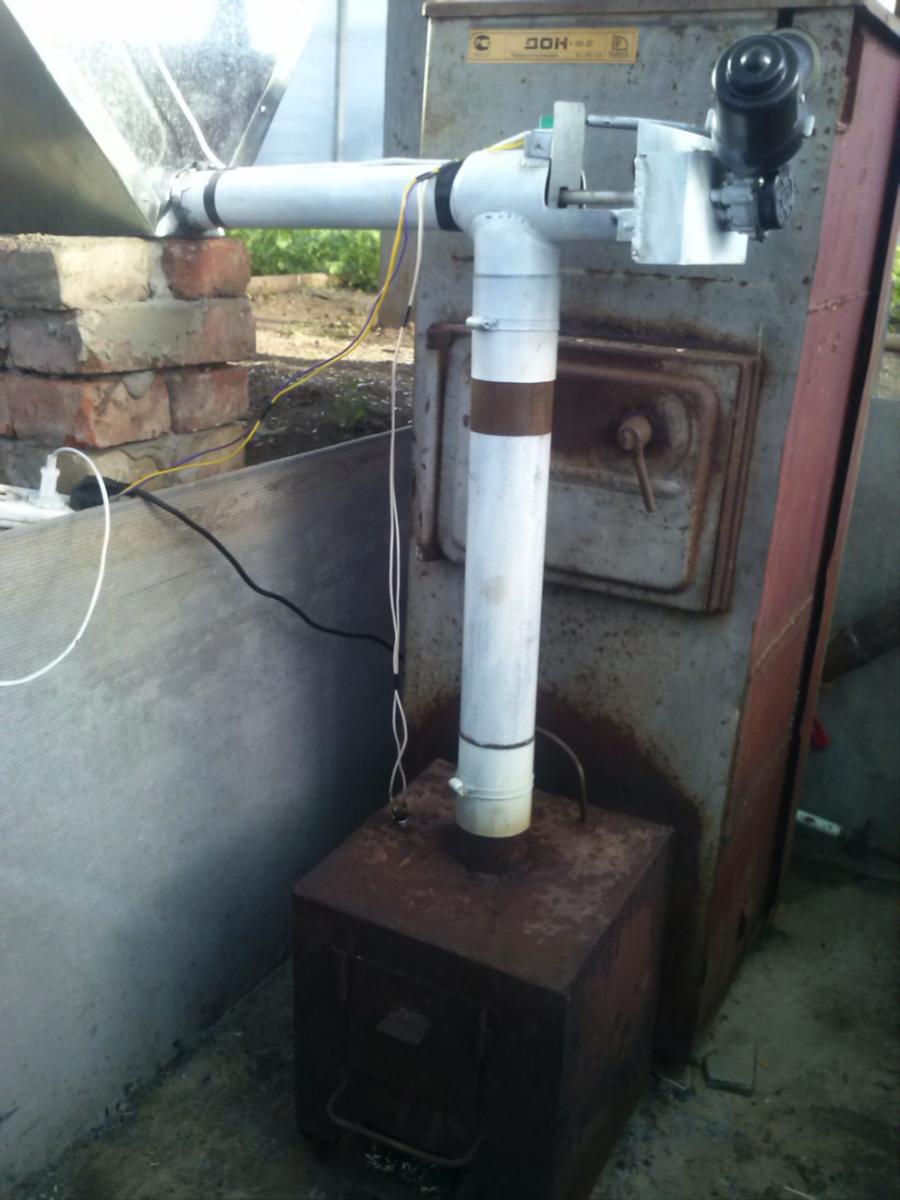 Печка с воздушным отоплением своими руками 75