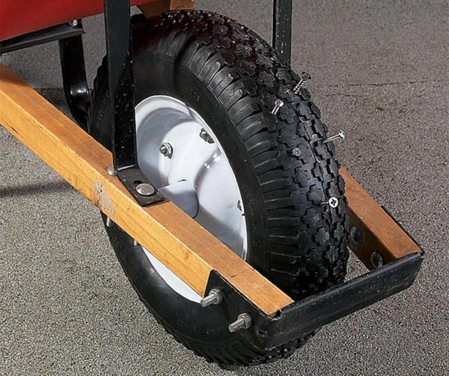 Сделай сам колёса на тачку своими руками 102