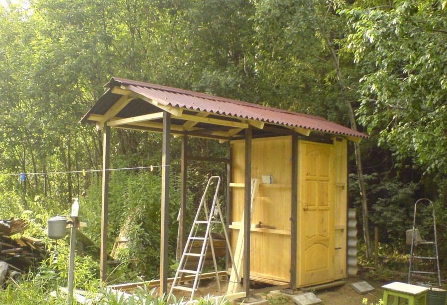 Построить дачный туалет своими руками проекты фото 35