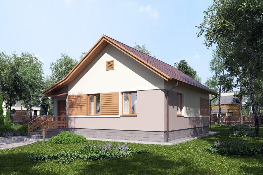 Проекты домов с гаражом - Проекты домов и коттеджей