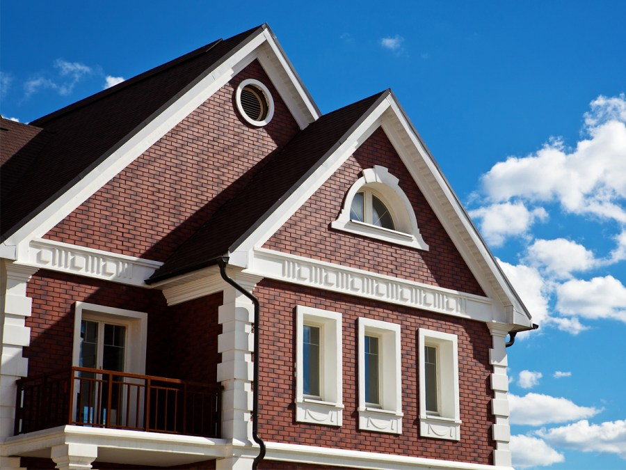 Отделка фасада дома материалы цена