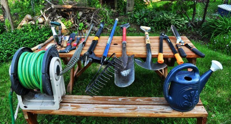 Инструменты для ухода за садом: пилы, косилки, культиваторы, триммеры