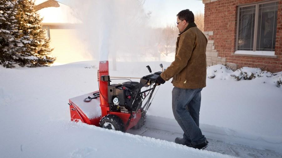 снегоуборочная машина для дома